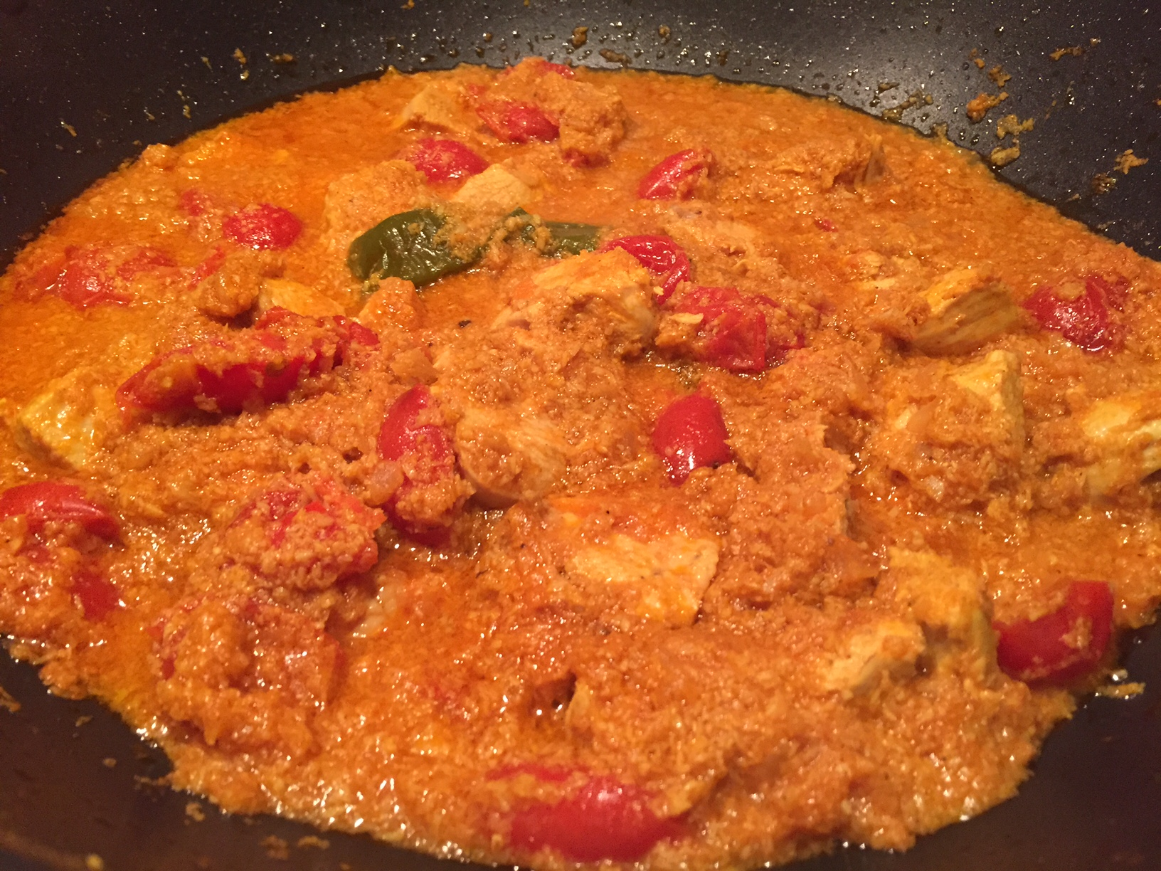 Curry di Pollo Chettinad