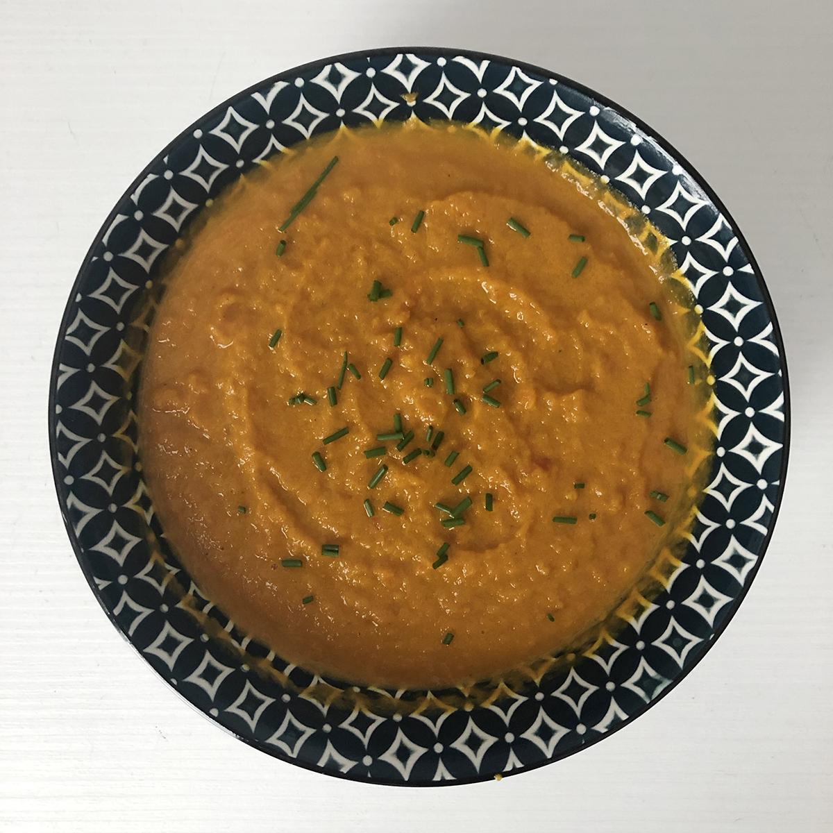 Vellutata di carote al curry
